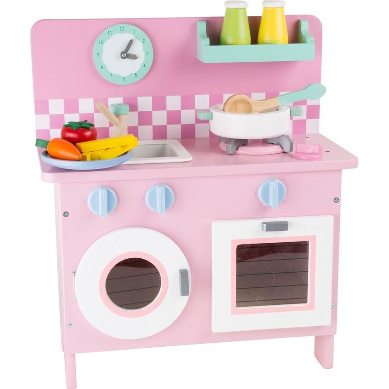 Roze keuken 40 x 20 x 45 cm