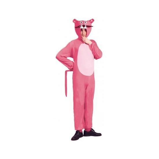 Roze panter kostuum voor volwassenen