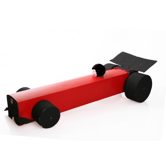 Sinterklaas Formule 1 auto surprise maken pakket