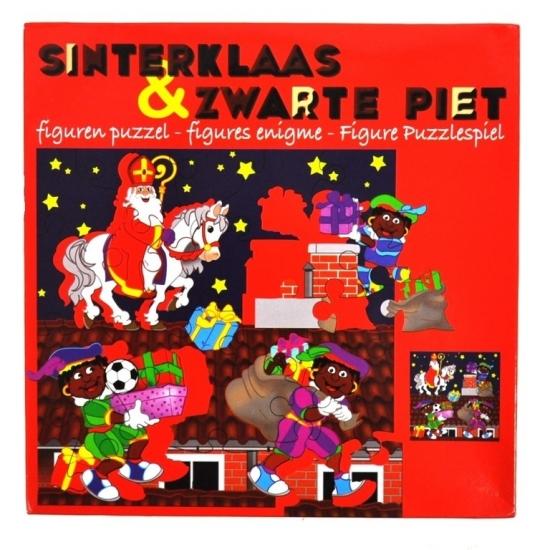 Sinterklaas Sinterklaas en Piet puzzel 35 cm