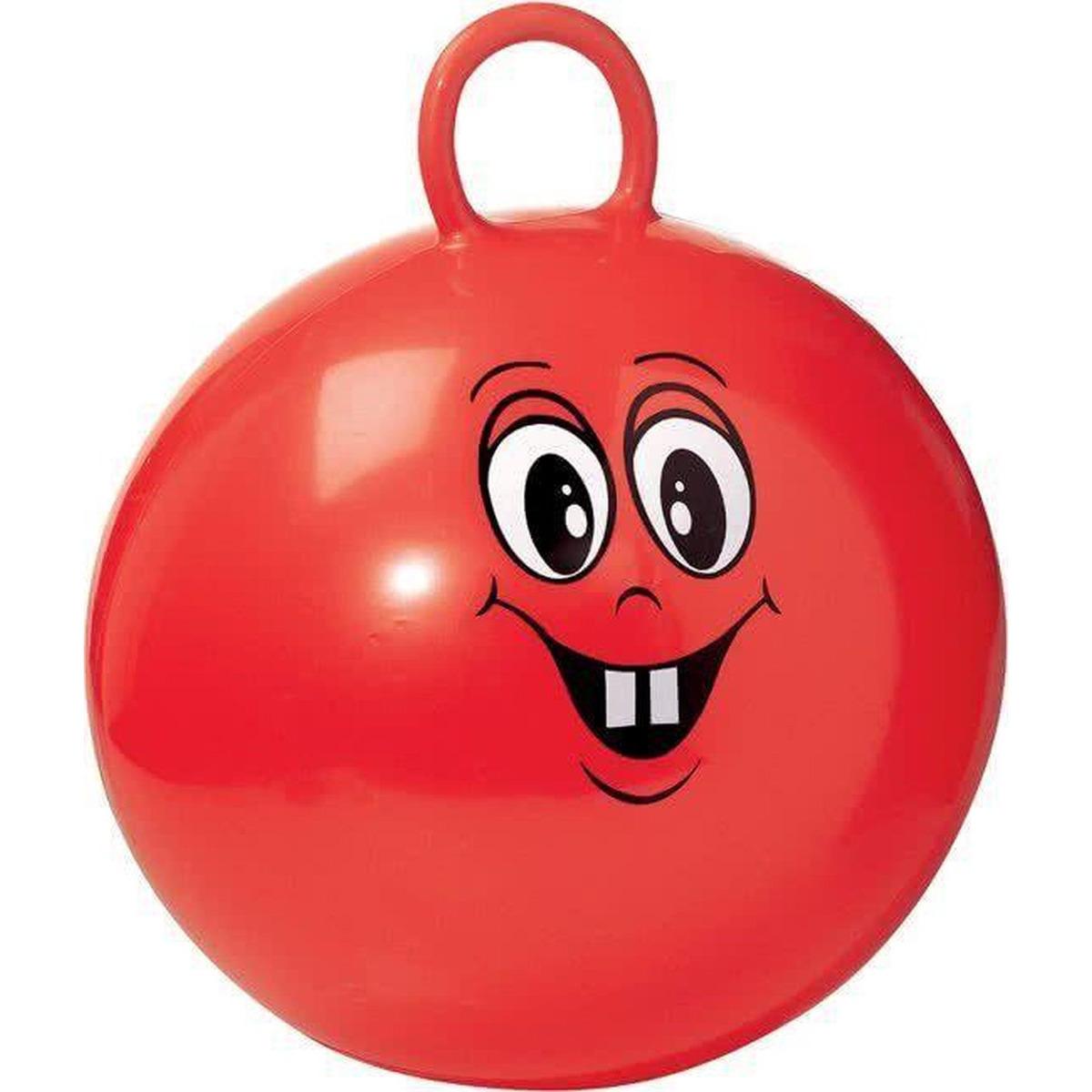 Skippybal met gezicht 50 cm