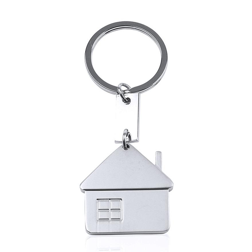 Sleutelhanger met huisje 3,5 cm
