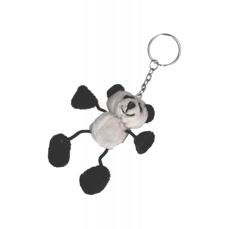 Sleutelhanger panda 5 cm