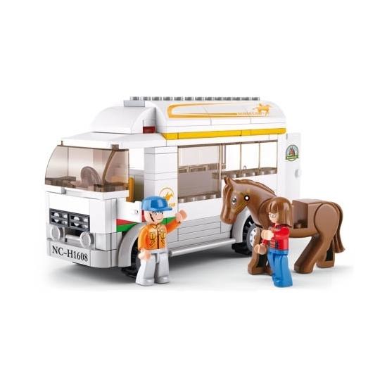 Sluban paardentransport bouwset