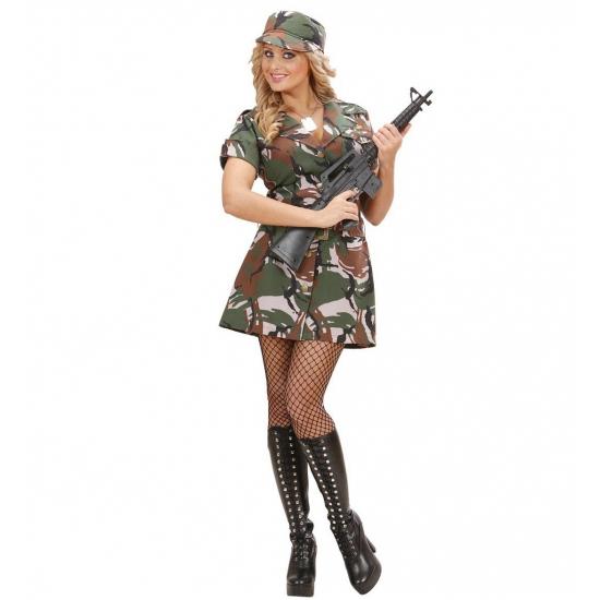 Soldaten jurkje dames