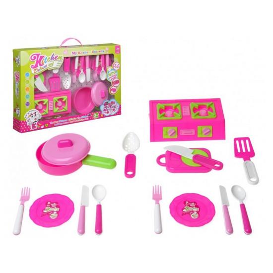 Speelgoed kooksetje 15 delig