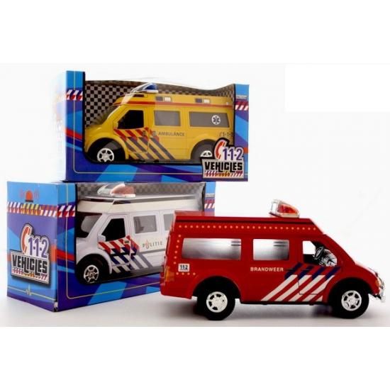 Speelgoed politie busje