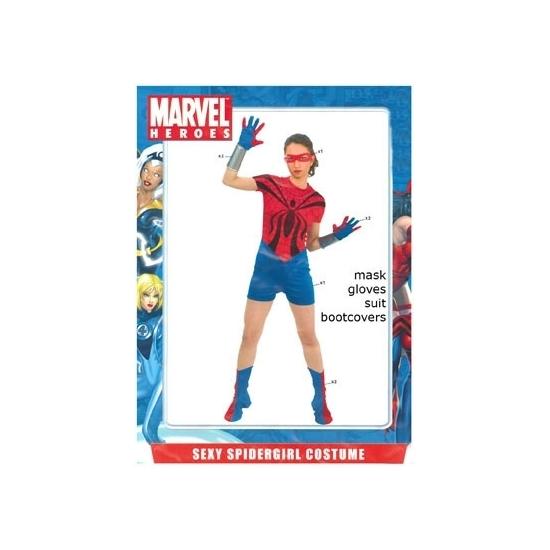 Spider girl kostuum voor dames