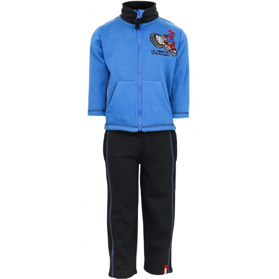 Spiderman joggingpak blauw