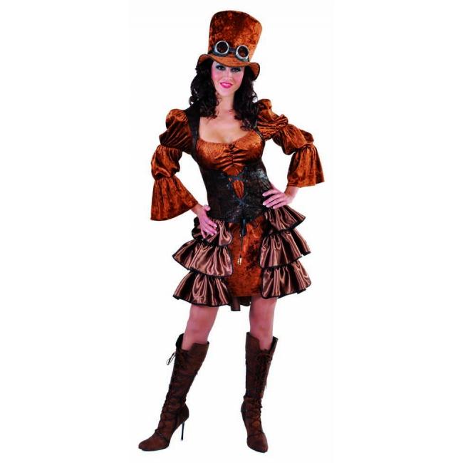 Steampunk jurk voor dames