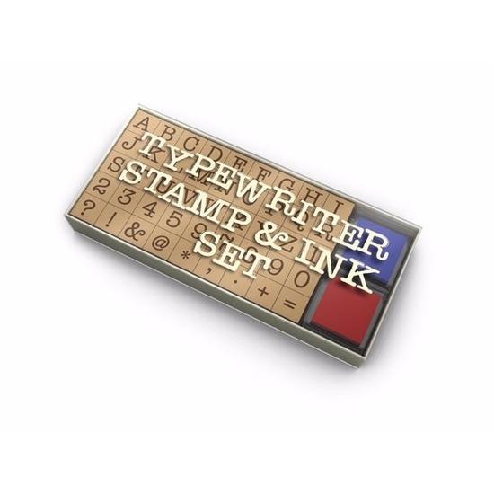Stempelkussen met cijfers en letters