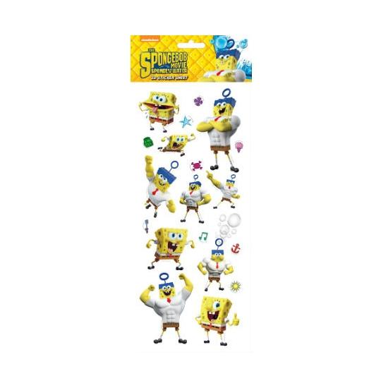 Stickervel 3D Spongebob