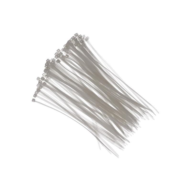 Tie wraps wit 18 cm 100 stuks
