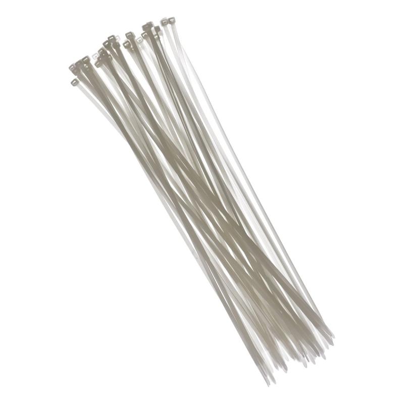 Tie wraps wit 40 cm 50 stuks