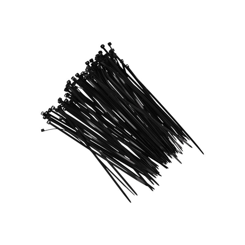 Tie wraps zwart 18 cm 100 stuks