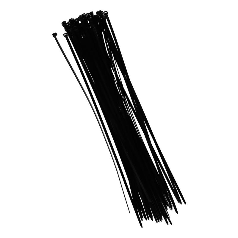 Tie wraps zwart 40 cm 50 stuks