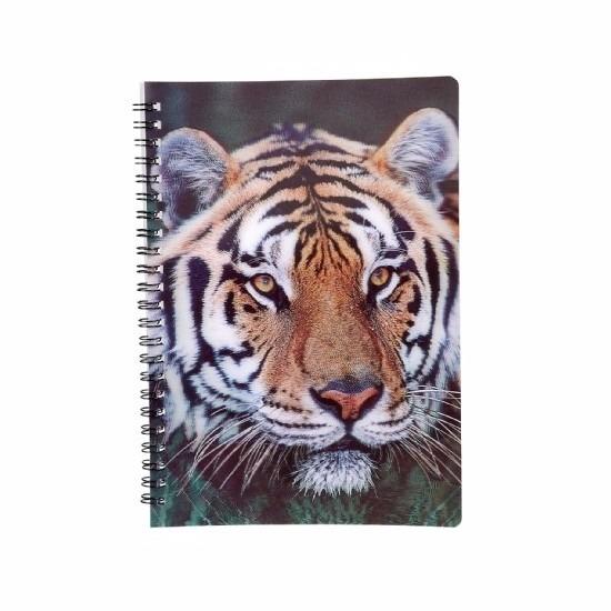 Tijger notitieboek 3D 21cm