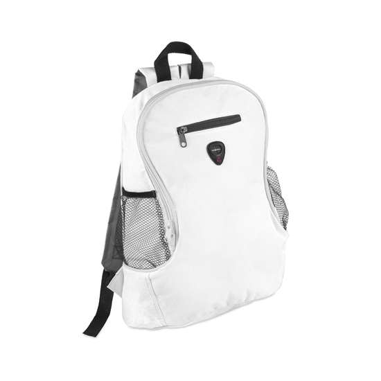 Voordelige backpack rugzak wit