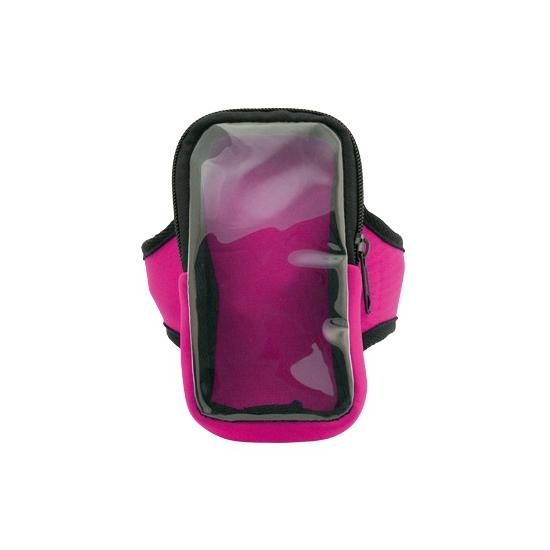 Voordelige smartphone sport armband roze