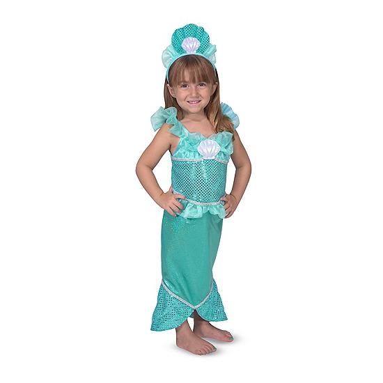Zeemeermin verkleedkleding voor meisjes