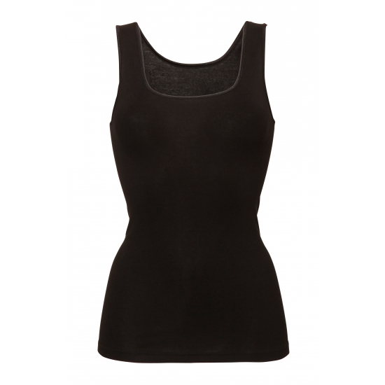 Zwart Ten Cate stretch hemd voor dames