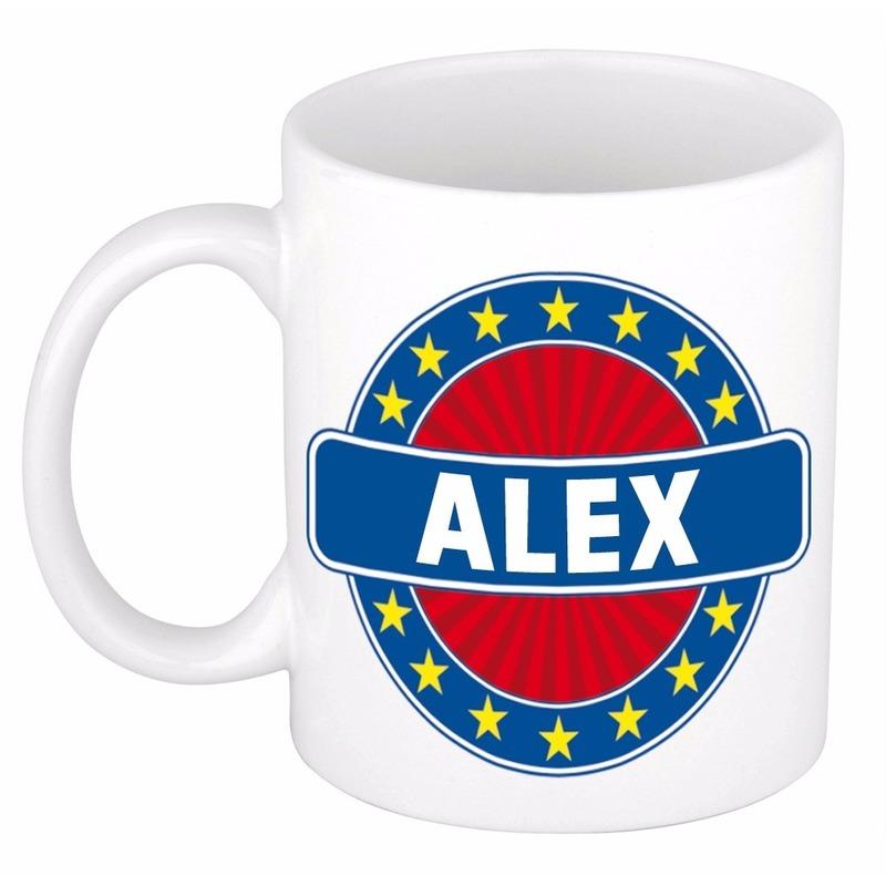 Alex naam koffie mok-beker 300 ml