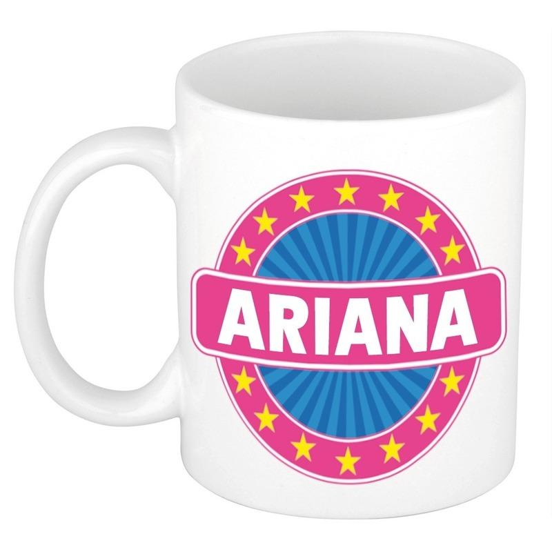 Ariana naam koffie mok beker 300 ml