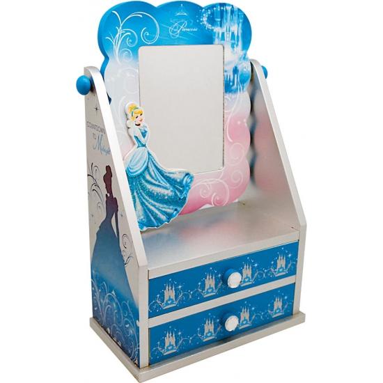 Assepoester kastje met spiegel