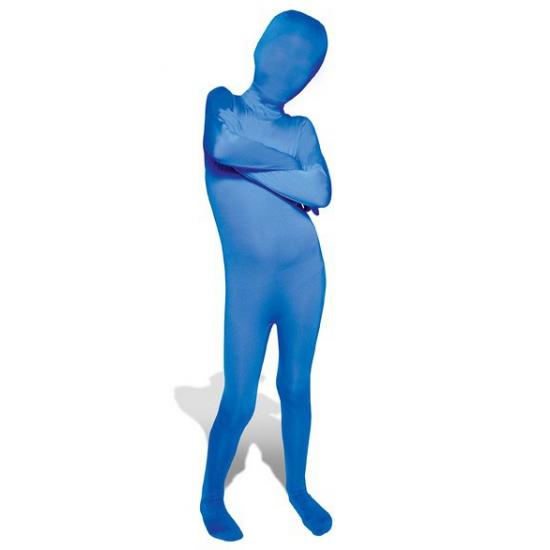 Blauwe morphsuit voor kinderen