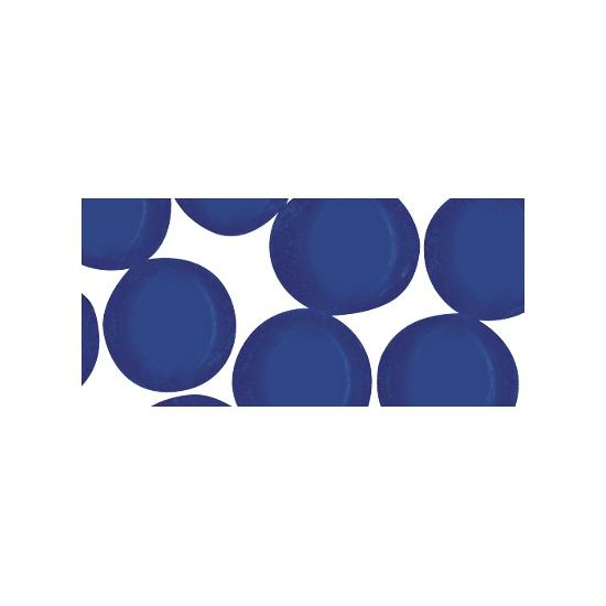 Blauwe mozaiek steentjes rond