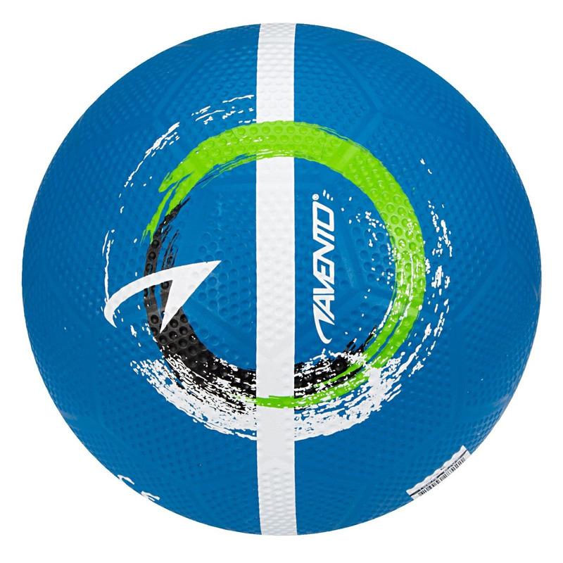 Blauwe speelgoed voetbal 21 cm-maat 5 voor kinderen-volwassenen