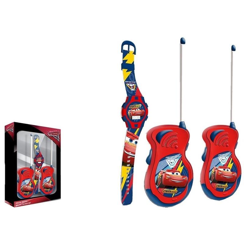 Cars walkie talkie speelgoed voor kinderen