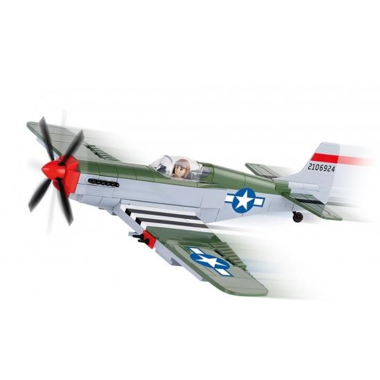 Cobi P 51 Mustang vliegtuig bouwstenen set