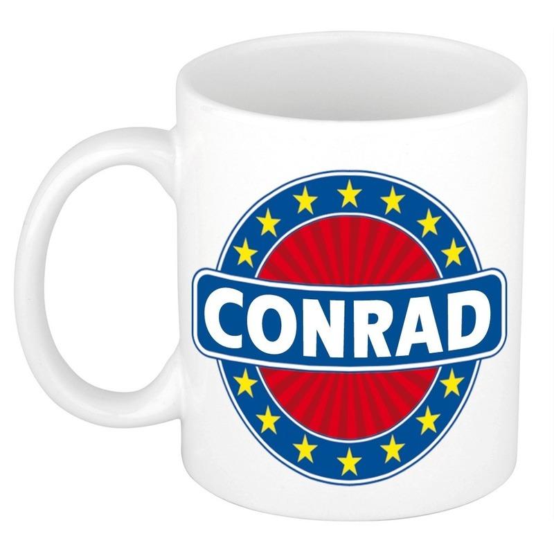 Conrad naam koffie mok-beker 300 ml