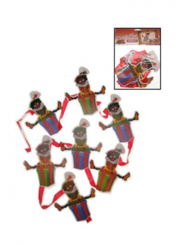 Decoratie Zwarte Pietjes mobiel