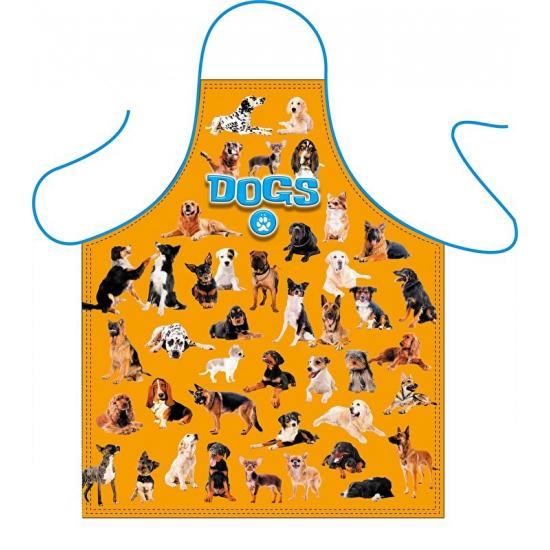 Dieren kookschort honden print