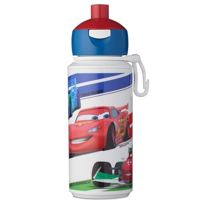 Disney Cars anti-lek pop-up drinkfles-schoolbeker 275 ml