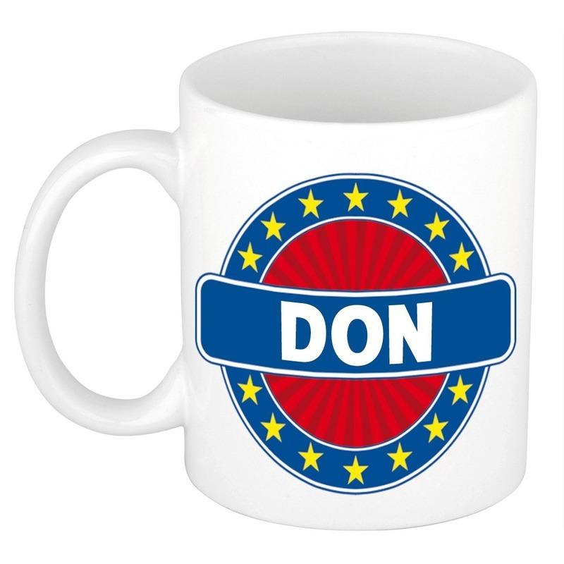 Don naam koffie mok beker 300 ml