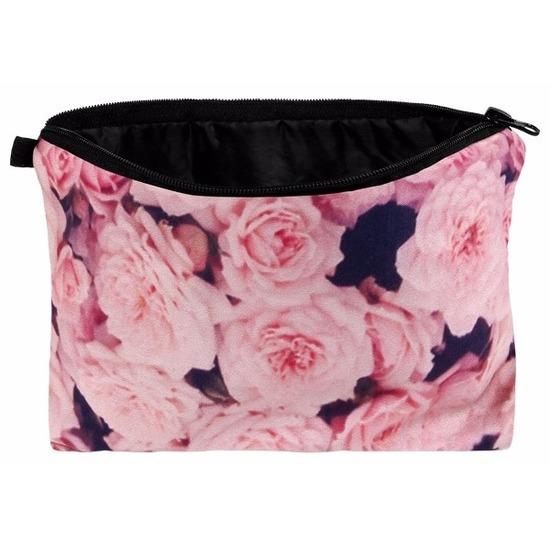 Etui met rozen design 20 x 14 cm