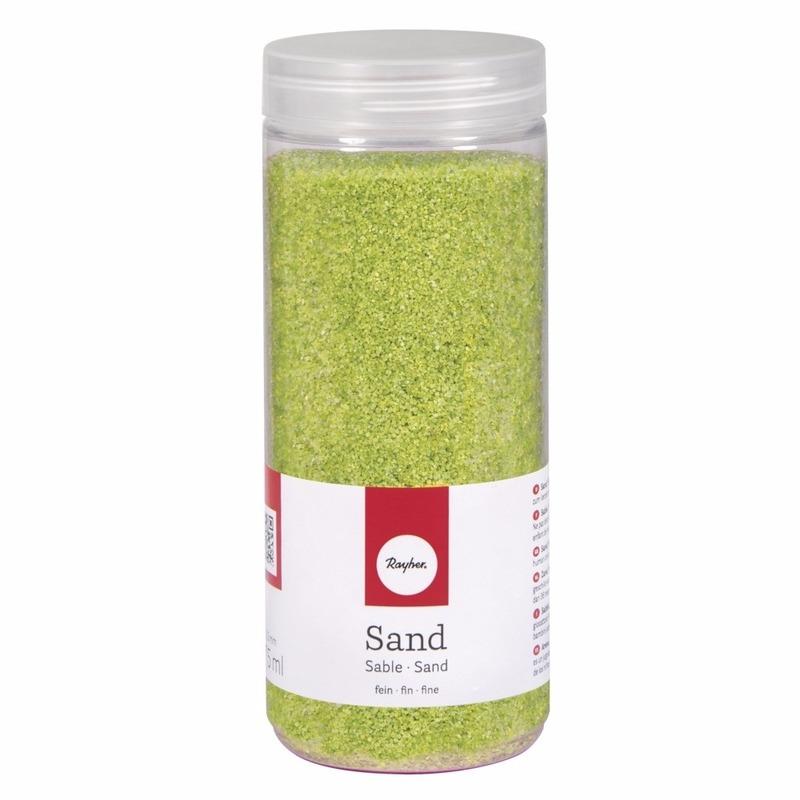 Fijn decoratie zand groen