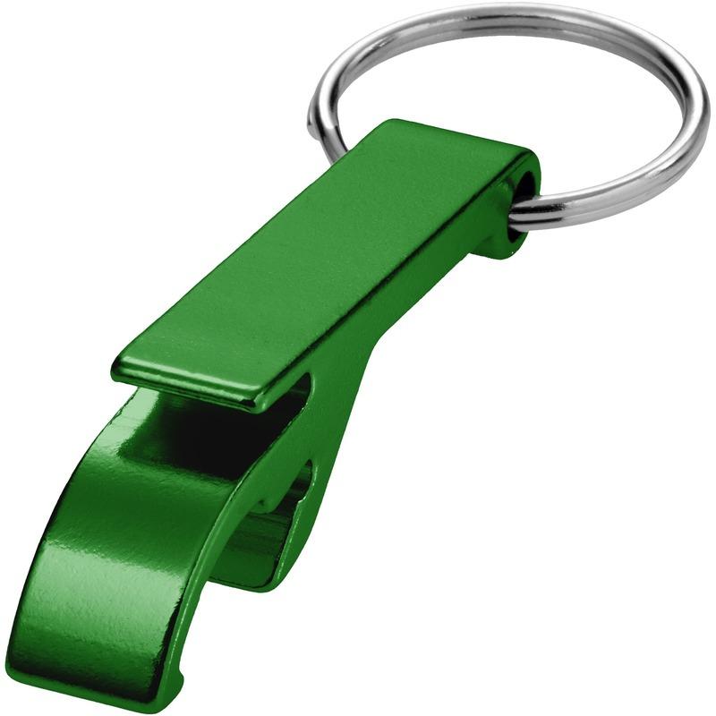 Flesopener sleutelhanger groen