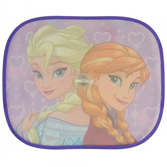Frozen Anna en Elsa auto zonneschermen 2 stuks