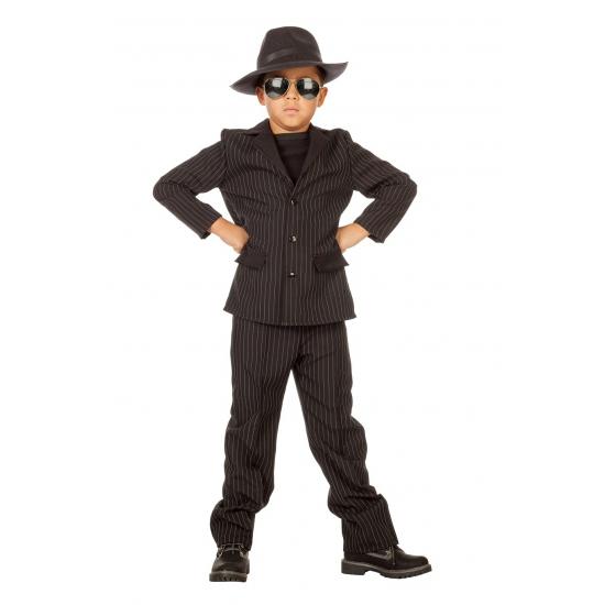 Gangster kostuum voor kids. dit gangster kostuum voor kids is gemaakt van polyester en bestaat uit een broek ...