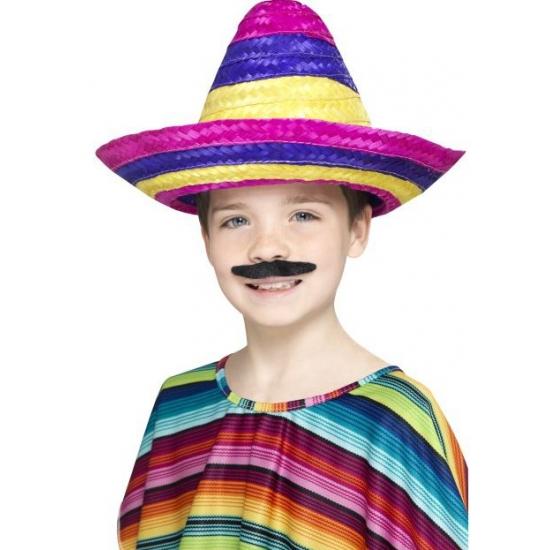 Gekleurde sombrero voor kinderen
