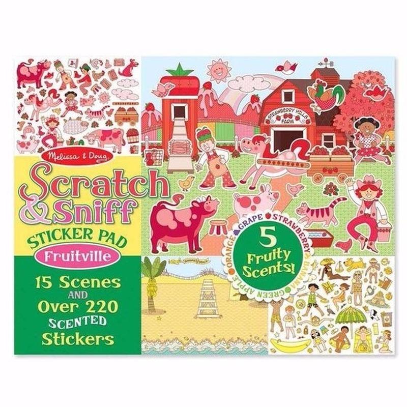 Geur stickers fruitgeur 220 stuks