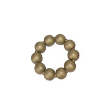 Gouden kralenarmband