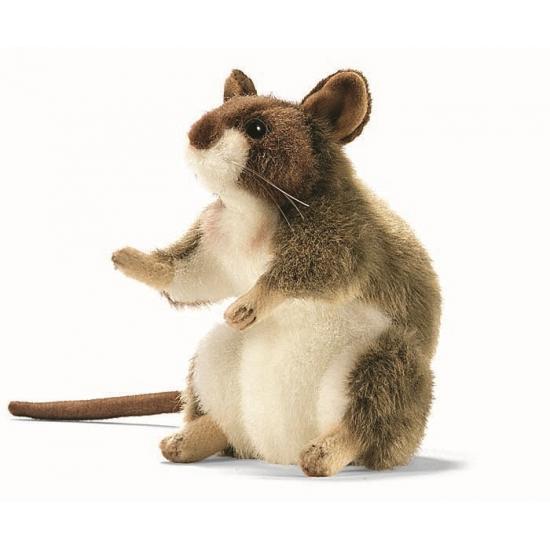 Hansa pluche muis knuffel 15 cm