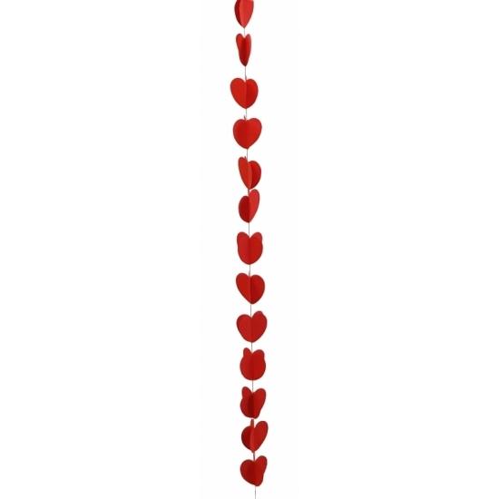 Hartjes slinger rood 190 cm