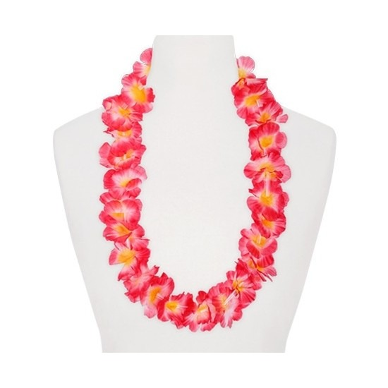 Hawaii slinger roze oranje