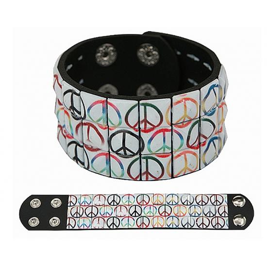 Hippie armband peace